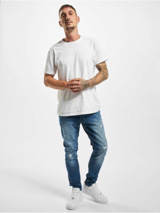 DEF Straight Fit Jeans Greg blue