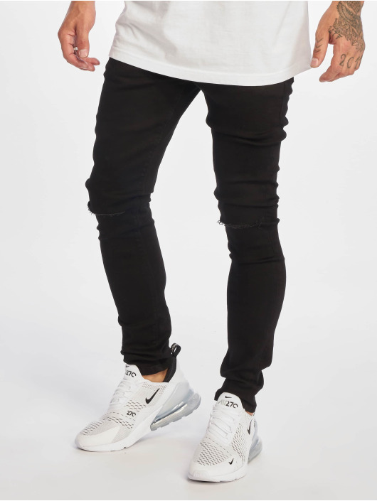 DEF Straight Fit Jeans Reckless schwarz