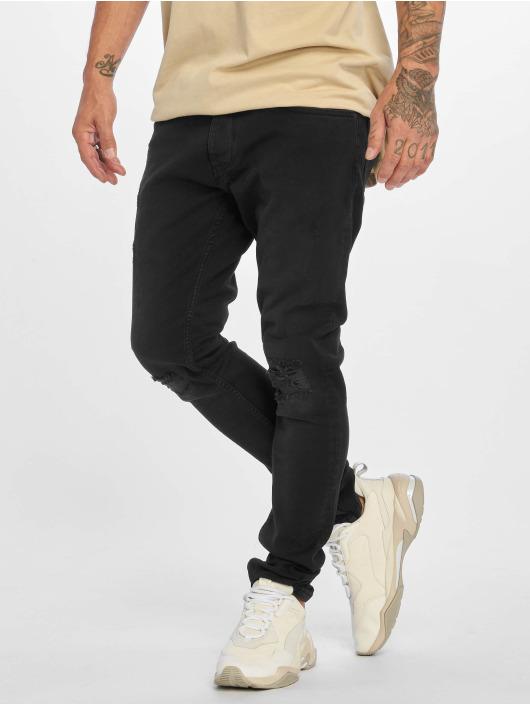DEF Straight Fit Jeans Dean schwarz