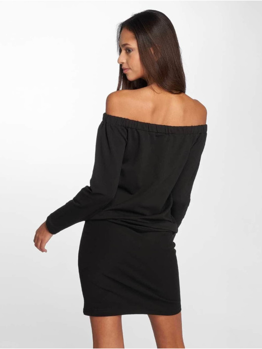 DEF Sukienki Luxa czarny