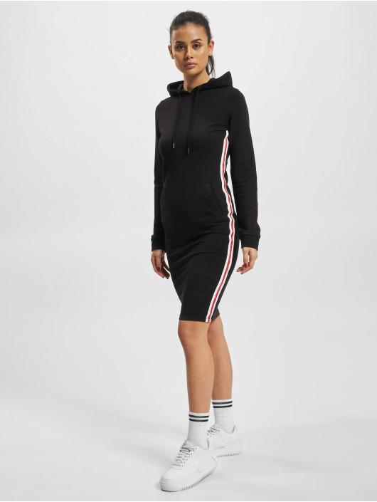 DEF Sukienki Lyot czarny