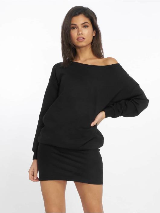 DEF Sukienki Classico czarny