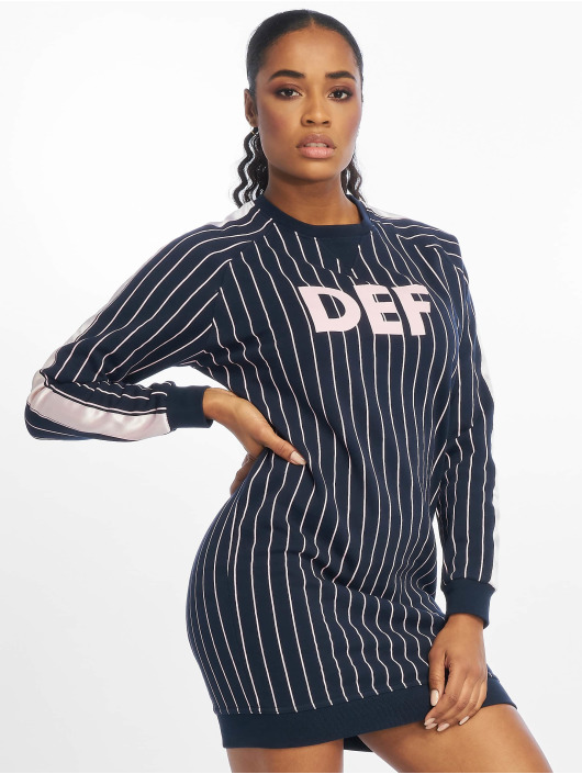 DEF Sukienki Shalima niebieski