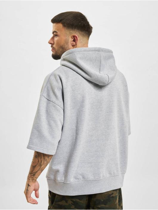 DEF Sweat capuche Short Sleeve gris