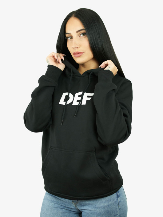DEF Sweat capuche Stay Home noir