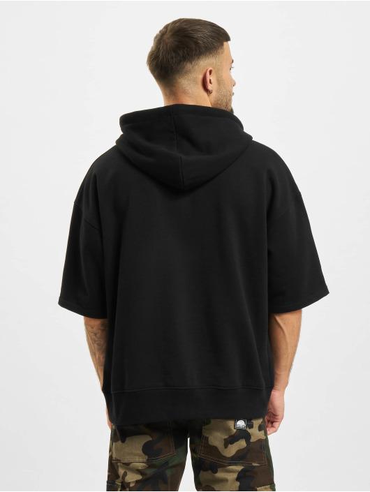 DEF Sweat capuche Short Sleeve noir