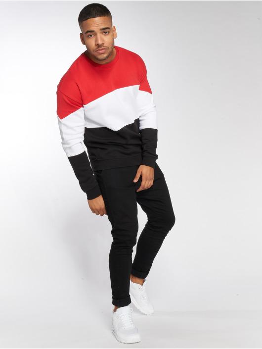 DEF Swetry Frank czerwony