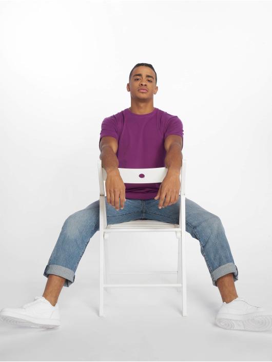 DEF T-paidat Dedication purpuranpunainen