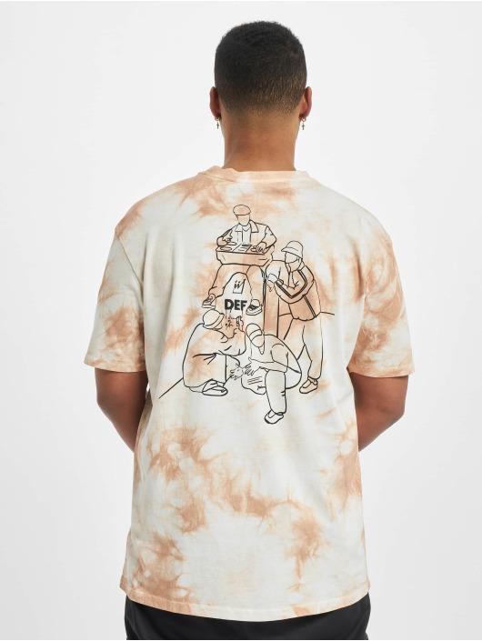 DEF T-Shirt Tie Dye Capsule beige