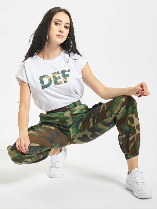 DEF T-Shirt Signed blanc