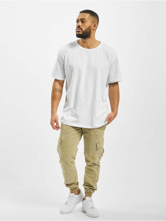DEF T-Shirt Dave blanc