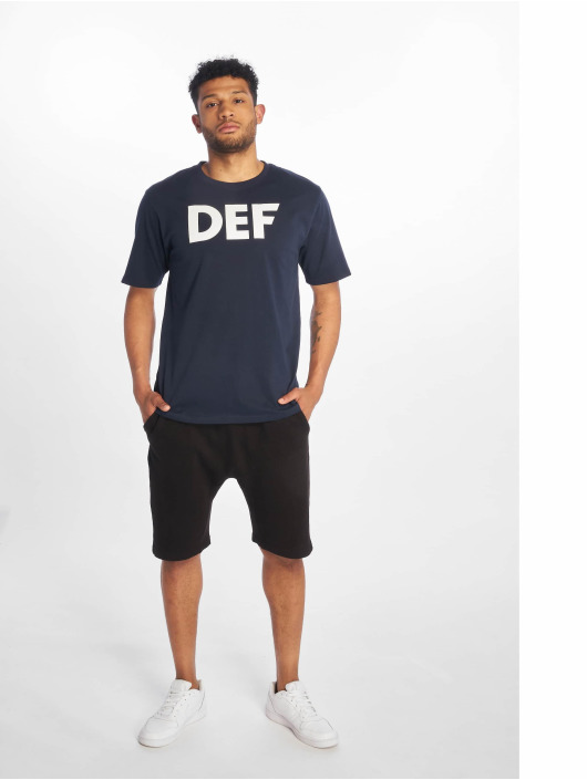 DEF T-Shirt Her Secret blau