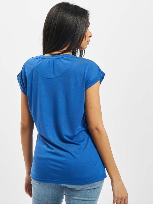 DEF t-shirt Giorgia blauw