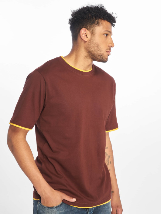 DEF T-Shirt Basic braun