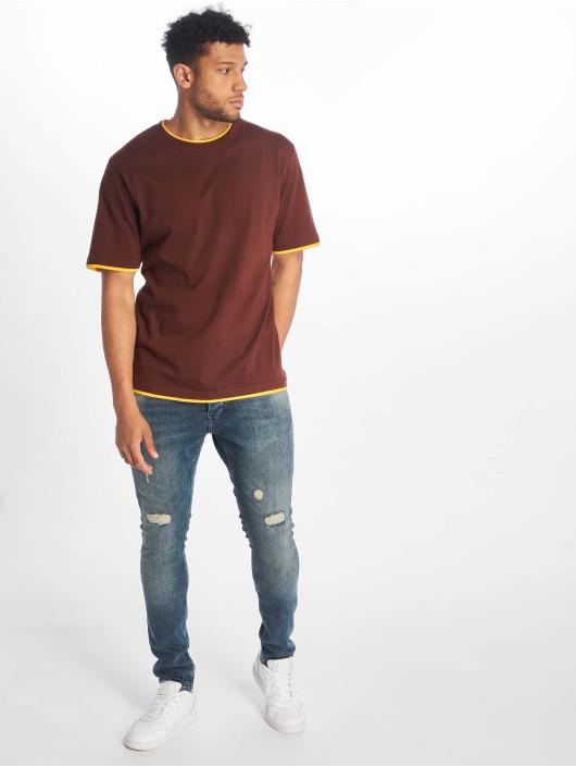 DEF t-shirt Basic bruin