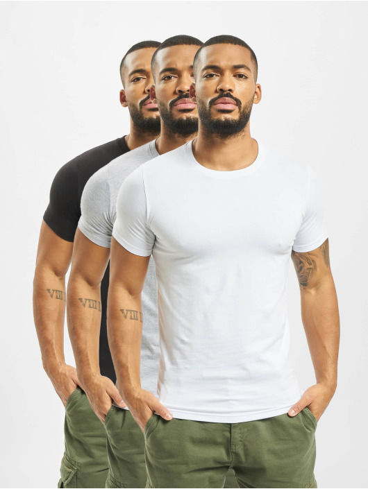 DEF T-Shirt Weary 3er Pack bunt