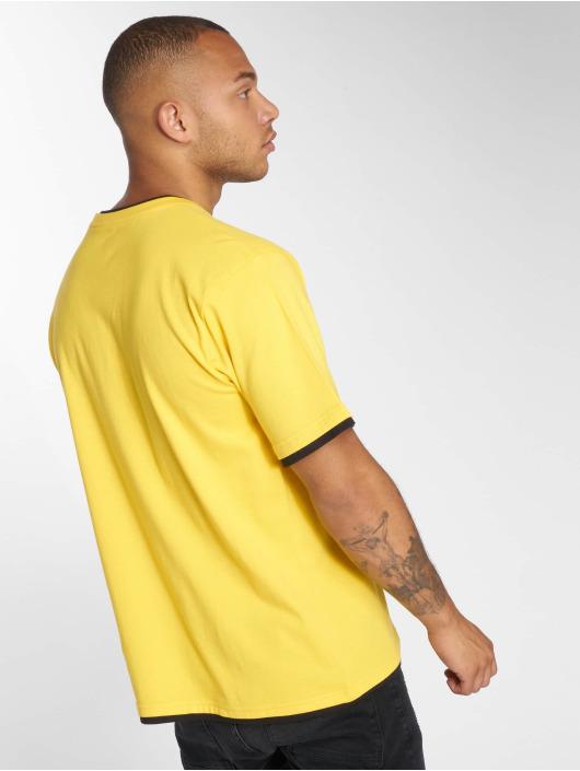 DEF T-Shirt Basic gelb