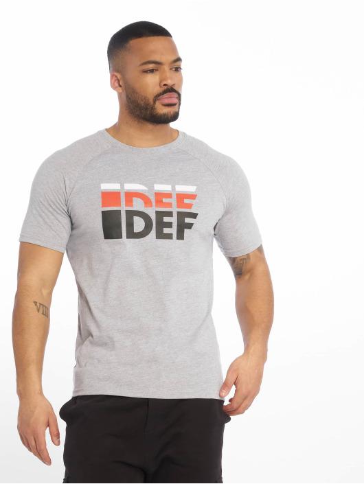 DEF T-shirt Joey grå