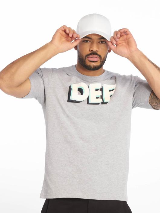 DEF T-Shirt Moses grau