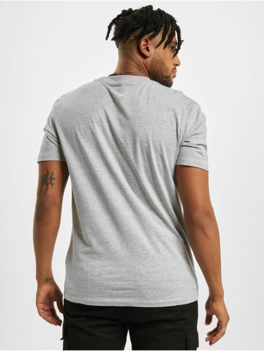 DEF T-Shirt Happy grau
