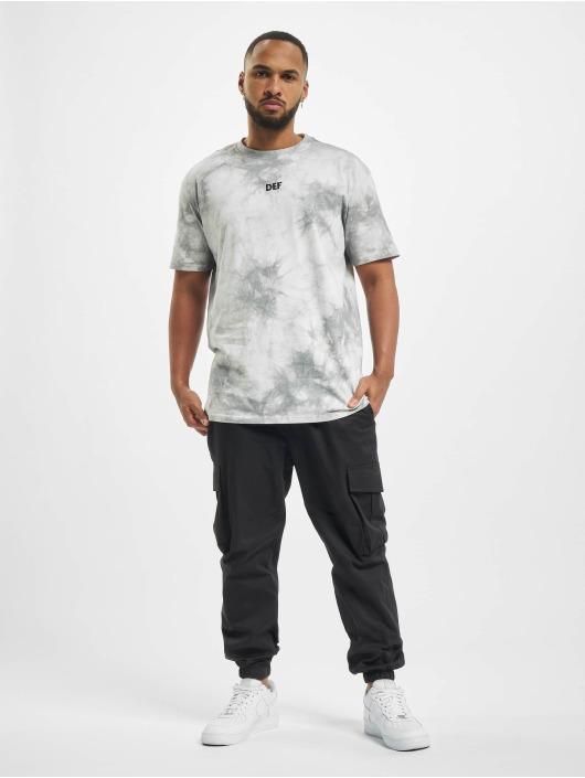 DEF T-Shirt Tie Dye Capsule grau