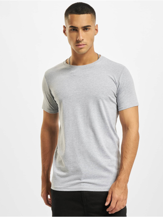 DEF T-Shirt Weary 3er Pack gris