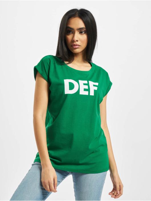 DEF T-Shirt Sizza grün