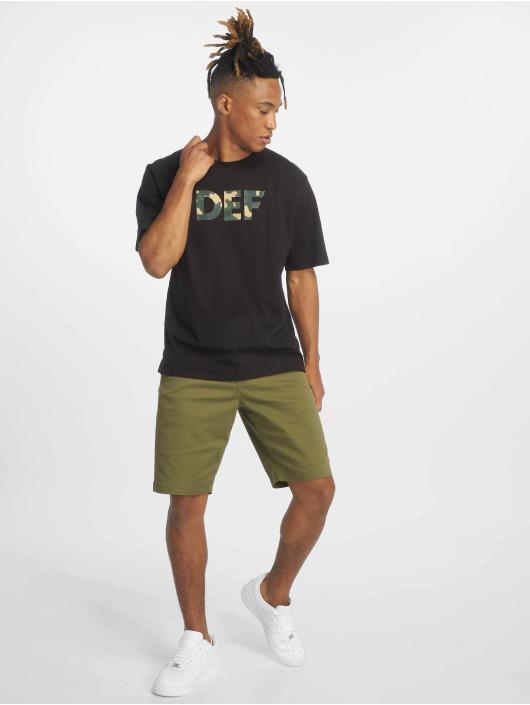 DEF T-Shirt Signed noir