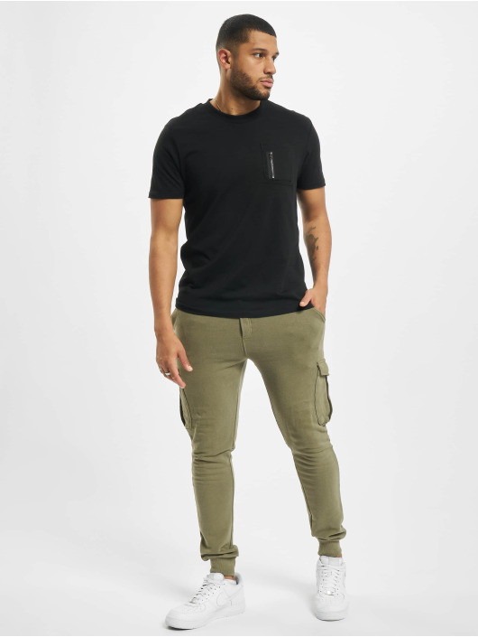 DEF T-Shirt Happy noir