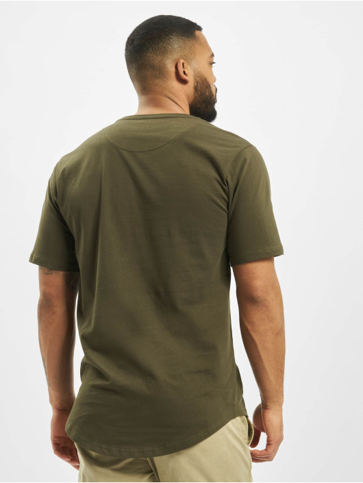 DEF t-shirt Lenny olijfgroen