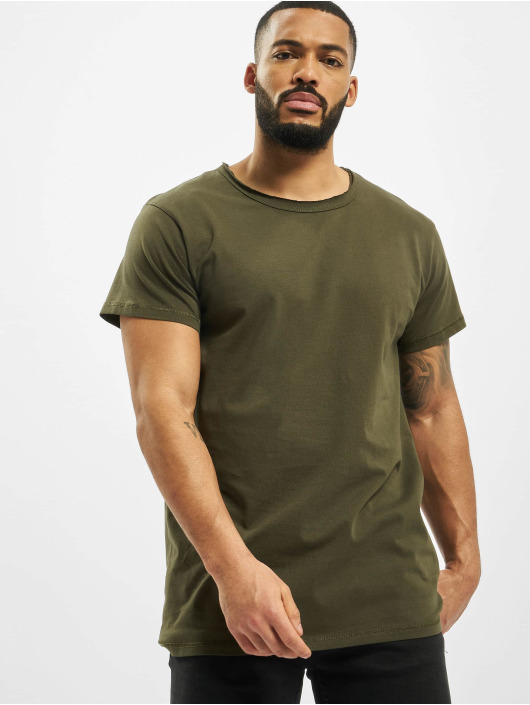 DEF t-shirt Edwin olijfgroen