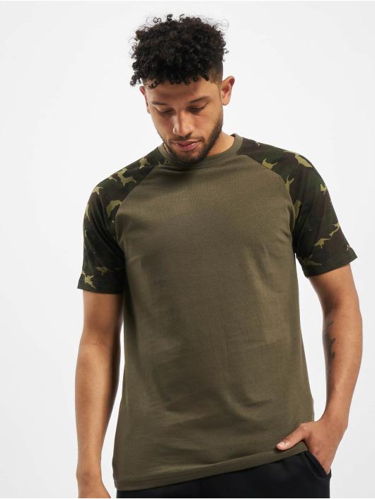 DEF t-shirt Kami olijfgroen