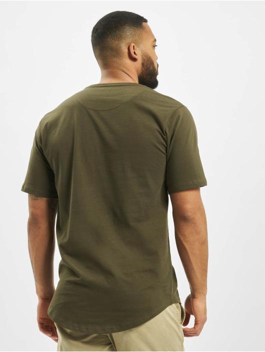 DEF T-shirt Lenny oliv