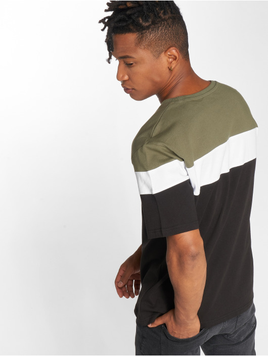 DEF T-shirt Steely oliva