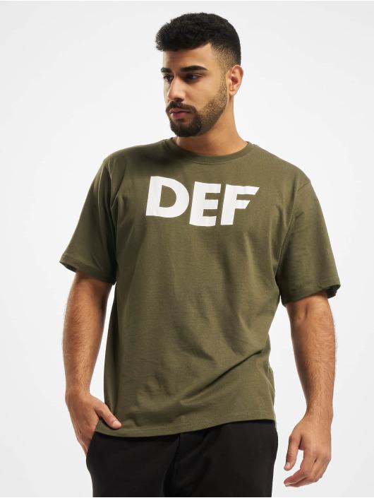 DEF T-Shirt Her Secret olive