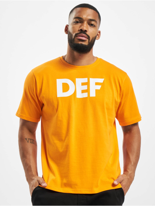DEF T-Shirt Her Secret orange