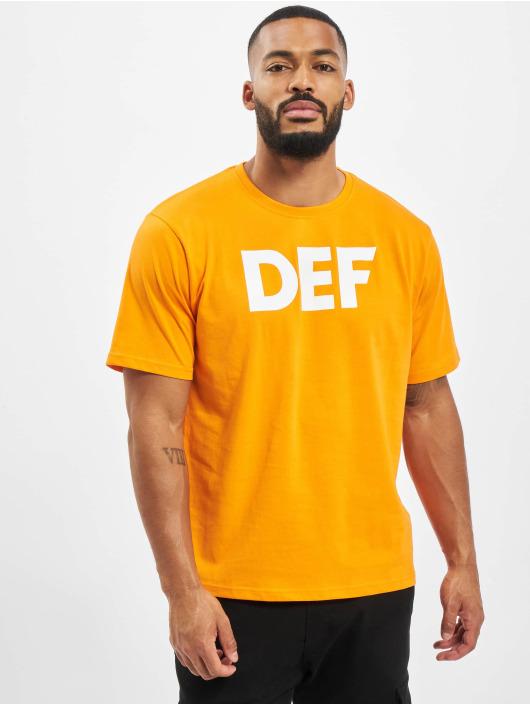 DEF T-Shirt Her Secret orange