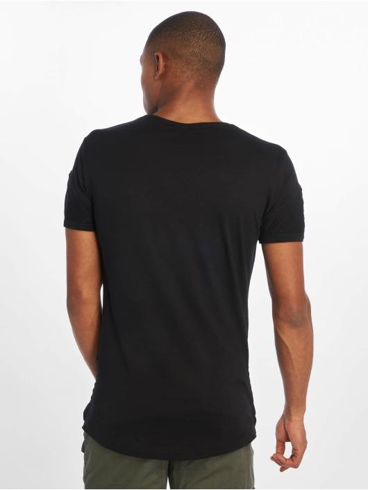 DEF T-Shirt Leats II schwarz