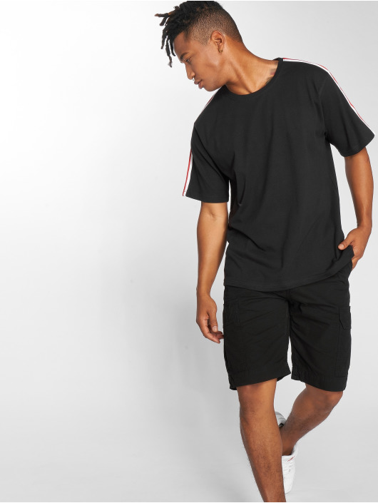 DEF T-Shirt Pindos schwarz