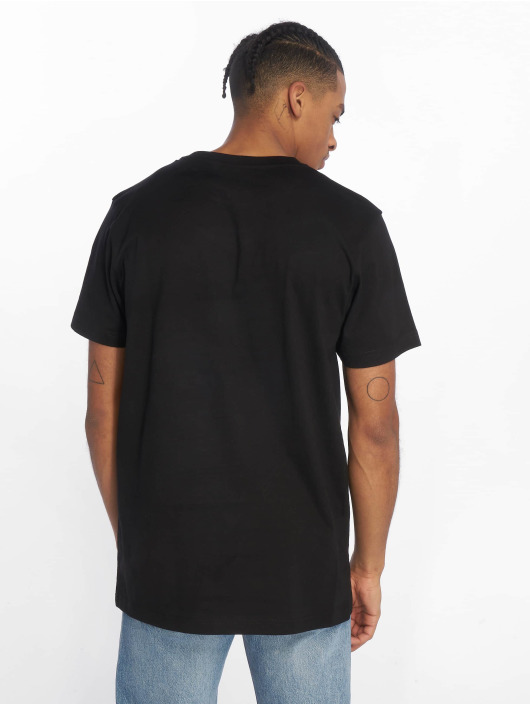 DEF T-Shirt Chevron schwarz