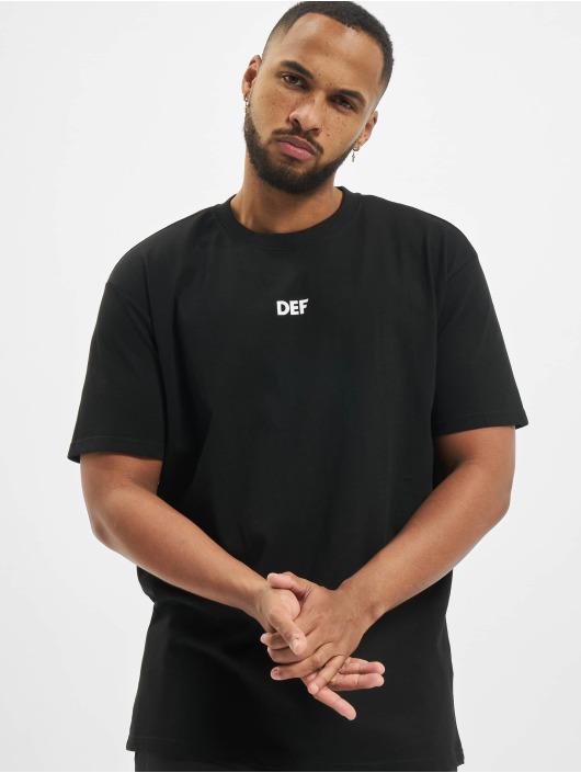 DEF T-Shirt Capsule schwarz