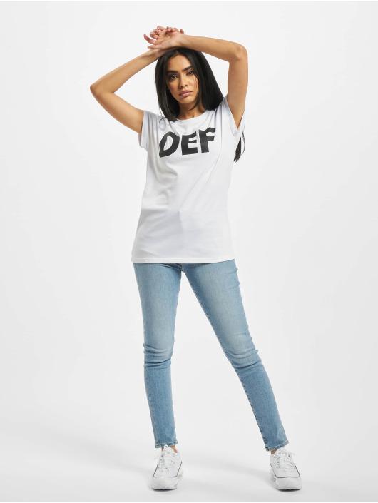 DEF T-Shirt Sizza weiß