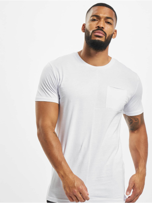 DEF T-Shirt Europa weiß