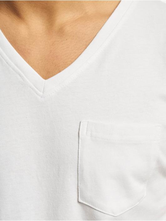 DEF T-Shirt V-Neck white