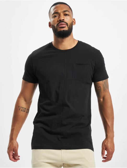 DEF t-shirt Europa zwart