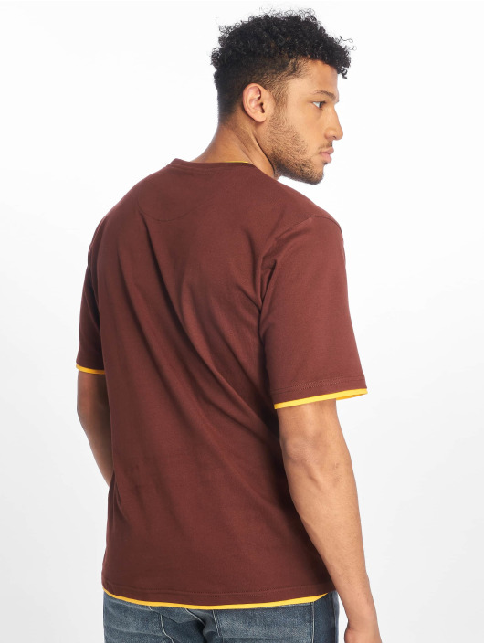 DEF T-shirts Basic brun
