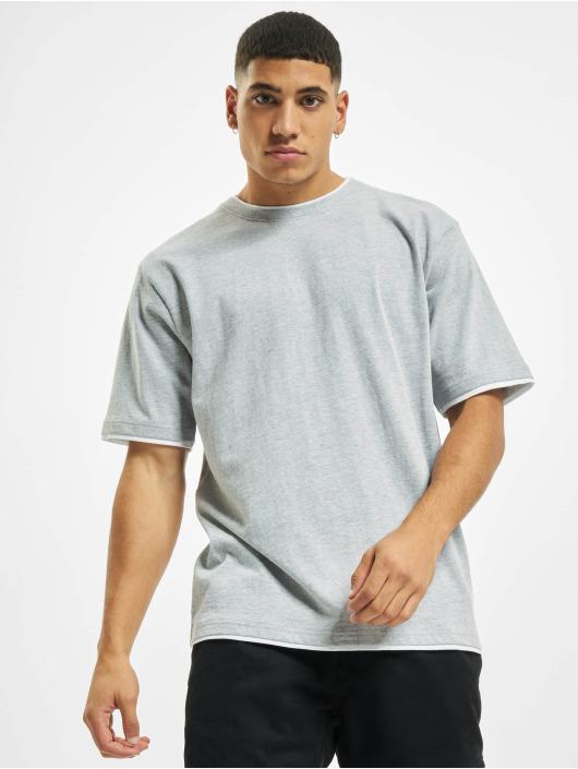 DEF T-shirts Basic grå