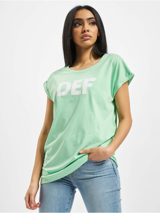 DEF T-shirts Sizza grøn