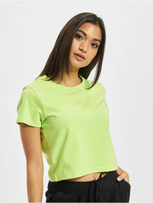 DEF T-shirts Love grøn