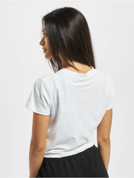 DEF T-shirts Love hvid